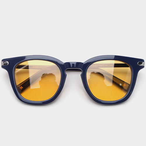 그라픽플라스틱 1920 03 Navy (Yellow Tint Lens)