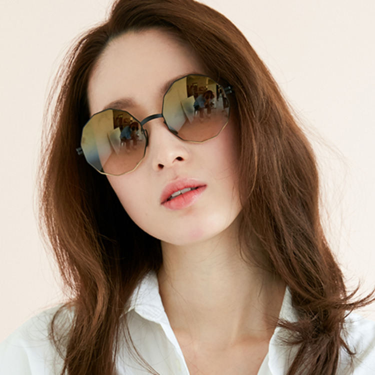 [마이키타선글라스] 베르슈카 VERUSCHKA 216 BLACK GOLD GRADI BRONZE GRADIENT FLASH (MYKITA x bernhard willhelm)