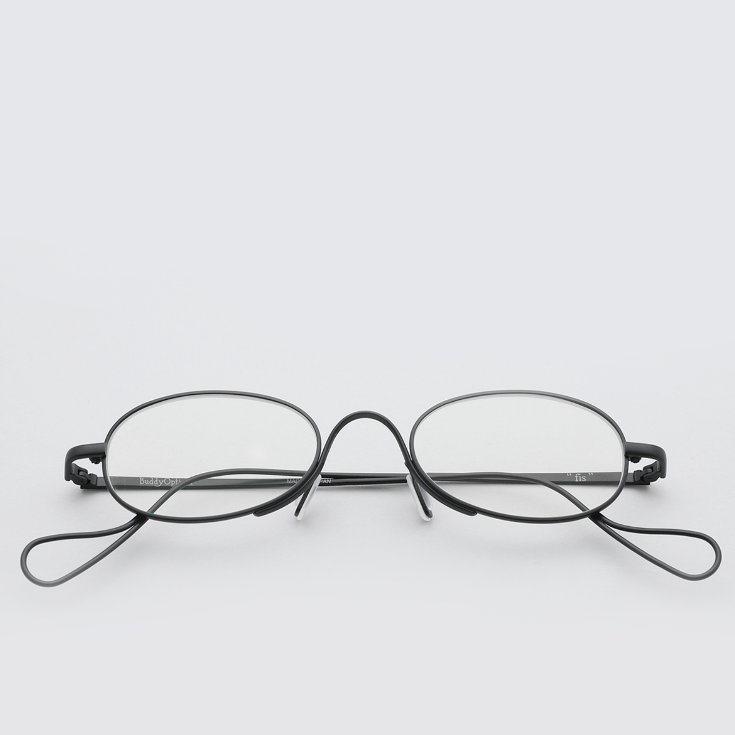 [버디옵티컬안경] fis MATTE BLACK (Buddy Optical)