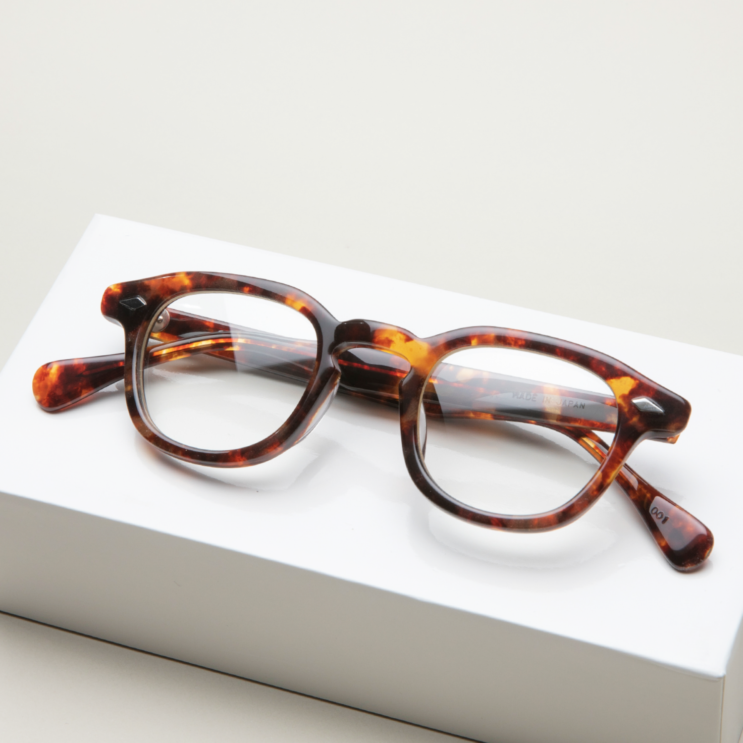 하만옵티컬 안경 월리스 WALLIS DEEP AMBER HARMAN OPTICAL