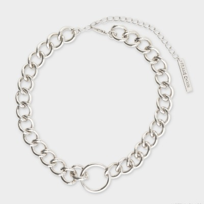 프레임체인 HOOKER IN WHITE GOLD FRAME CHAIN